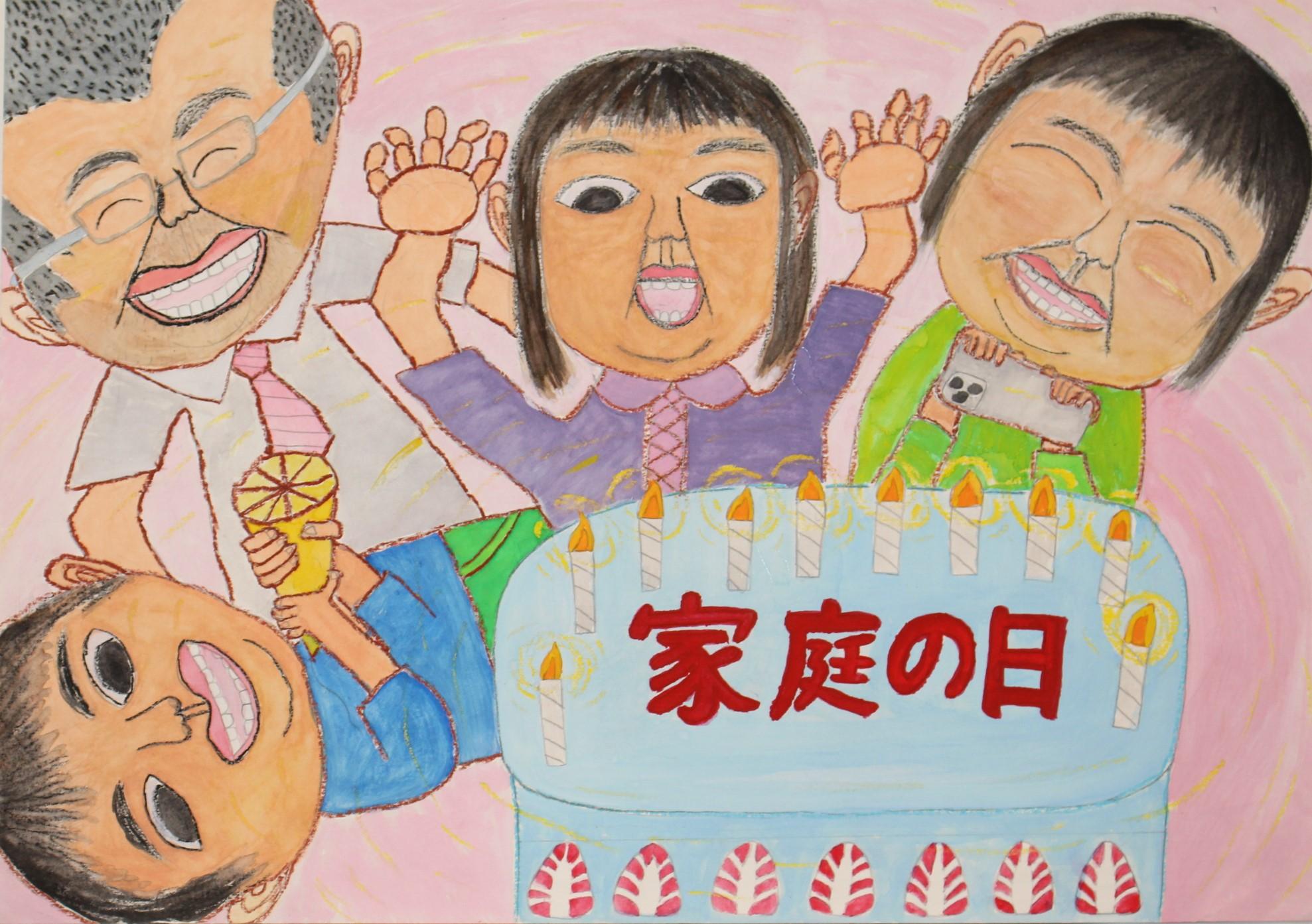 優良賞 宮崎市立生目台西小学校 5年 恵利 つぼみ(えり つぼみ)さん