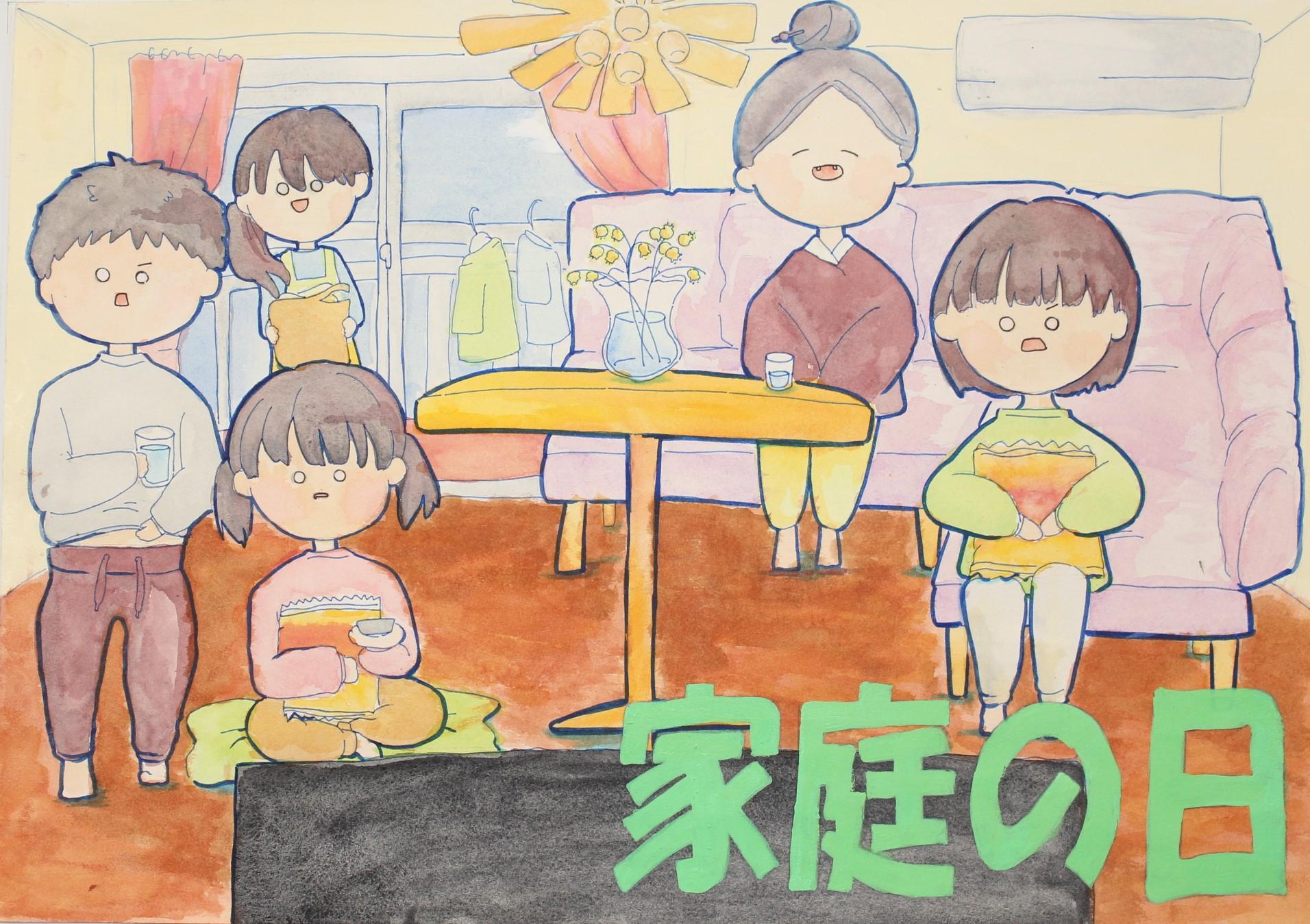 優良賞 宮崎市立加納中学校 2年 長友 琴音(ながとも ことね)さん
